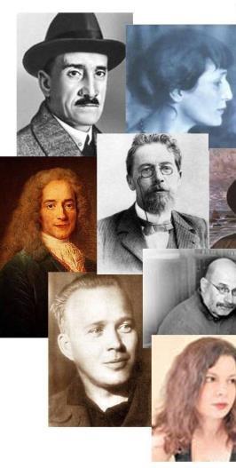 знаментые писатели фото 1
