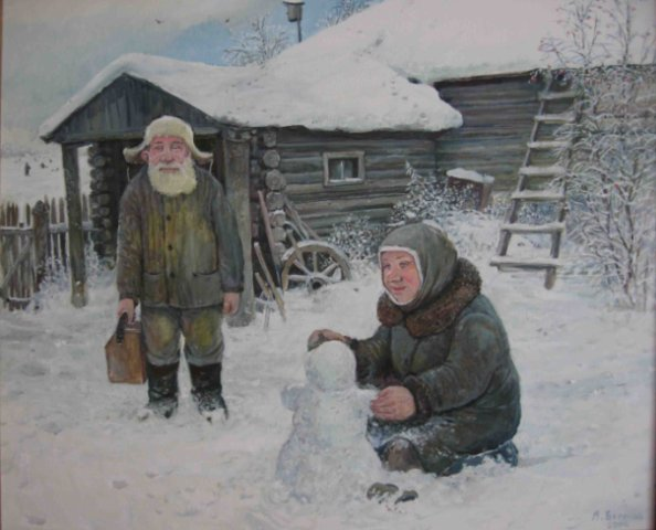 Картины Леонида Баранова 5