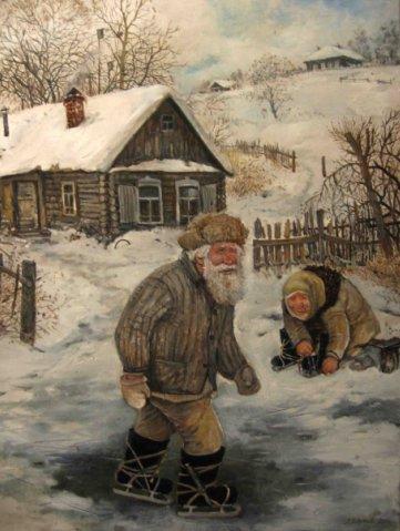 Картины Леонида Баранова 2