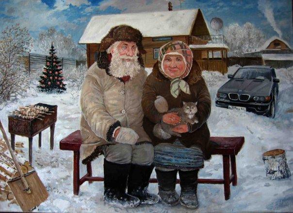Картины Леонида Баранова 1