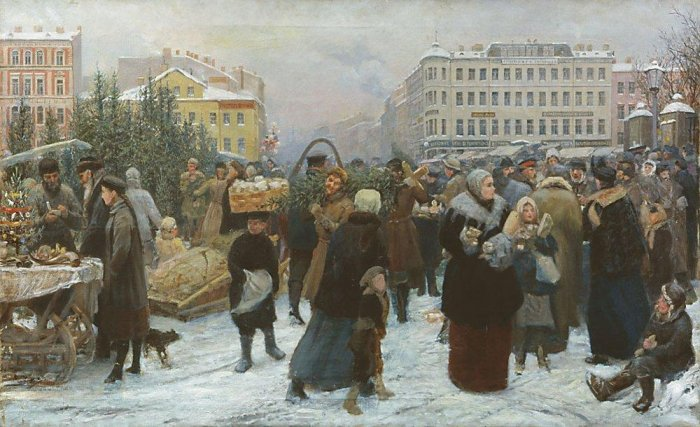 Старинные открытки с Рождеством Христовым 01