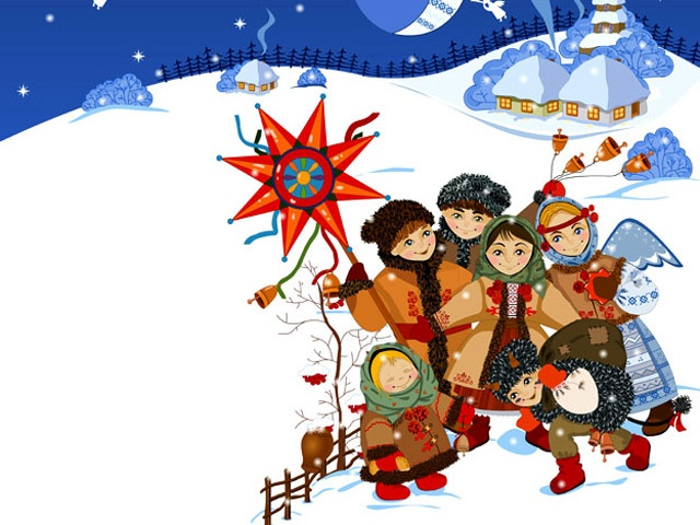 Старинные открытки с Рождеством Христовым 7