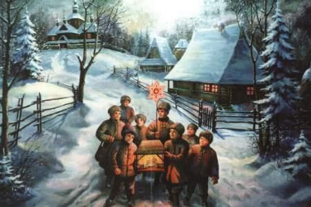 Старинные открытки с Рождеством Христовым 5