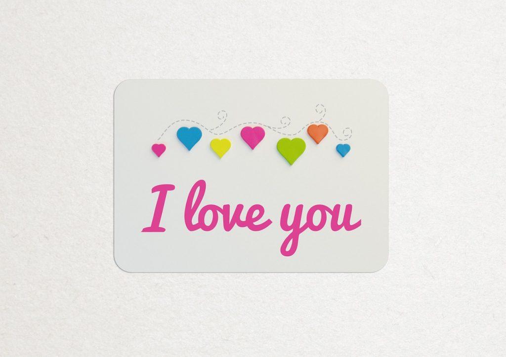 """Картинки со словами """"Я тебя люблю"""" 6"""