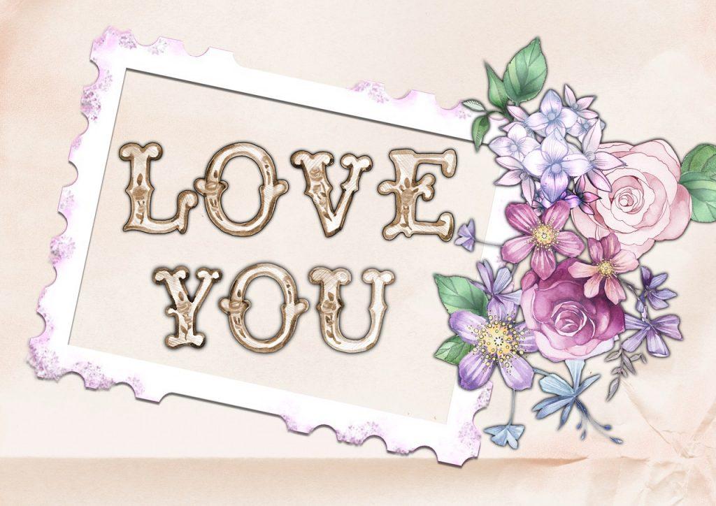 """Картинки со словами """"Я тебя люблю"""" 2"""