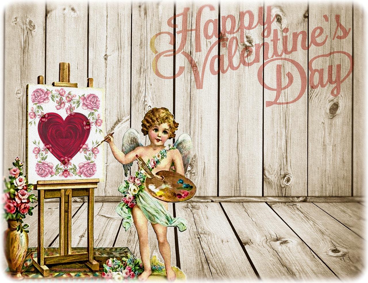 Открытки с днем влюбленных - 14 февраля 1