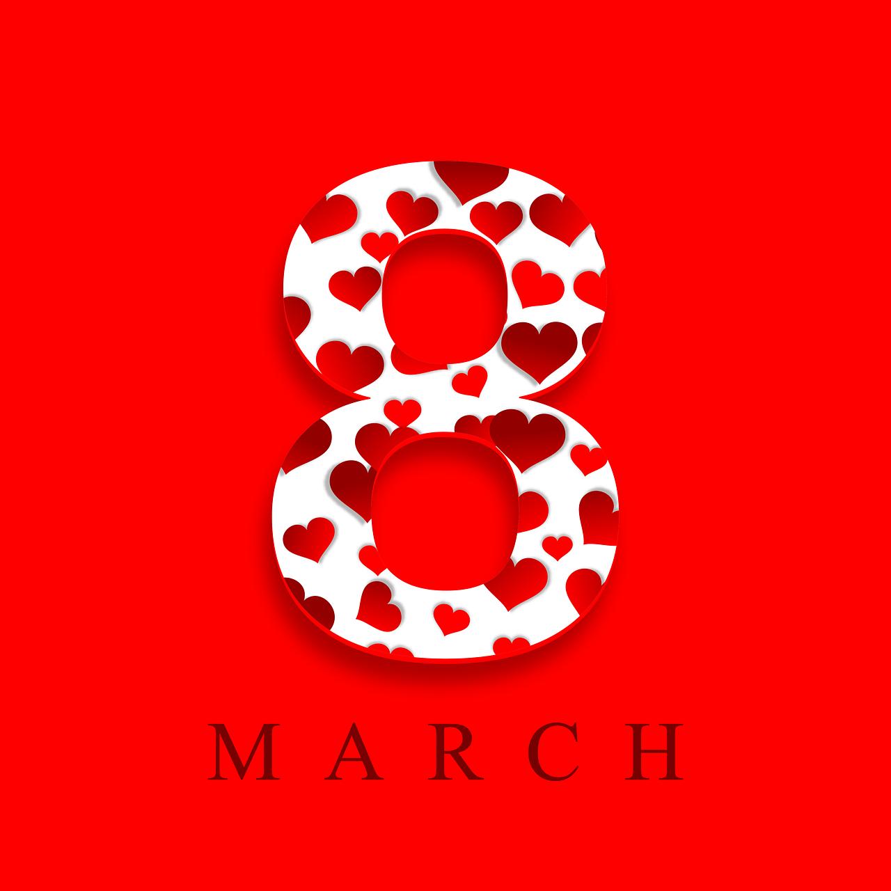 Стихи на 8 марта