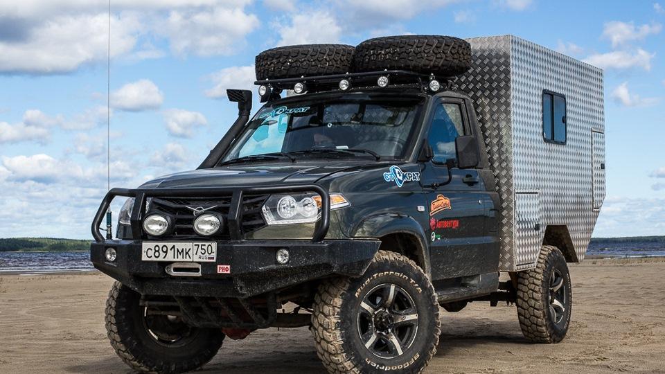 Новая модель УАЗ «Карго»